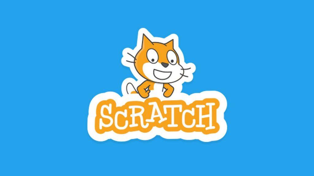 Il logo di Scratch la piattaforma di coding semplificata a blocchi