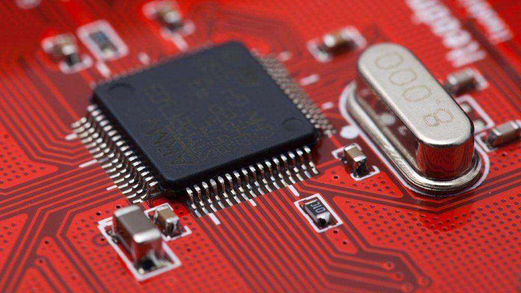Il processore di una scheda microcontroller
